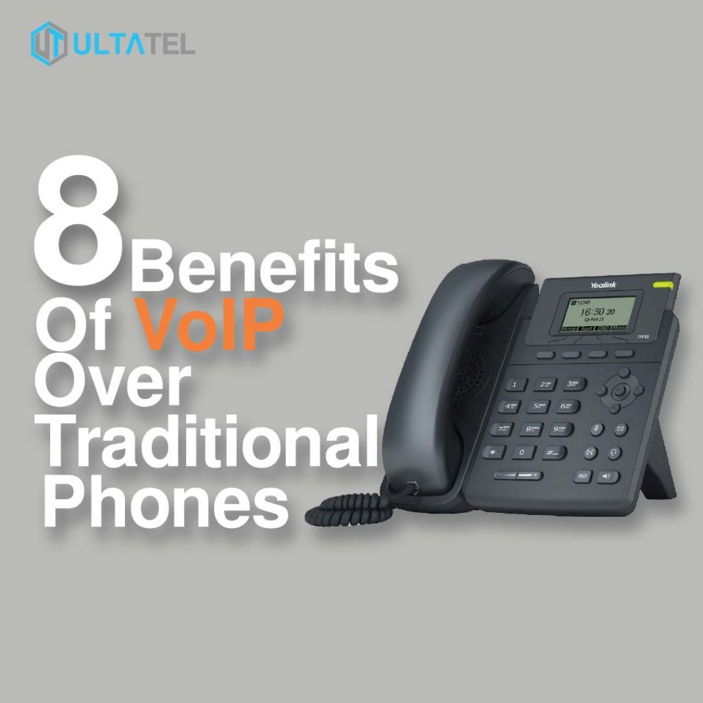 VoIP Benefits Over Traditional Phones