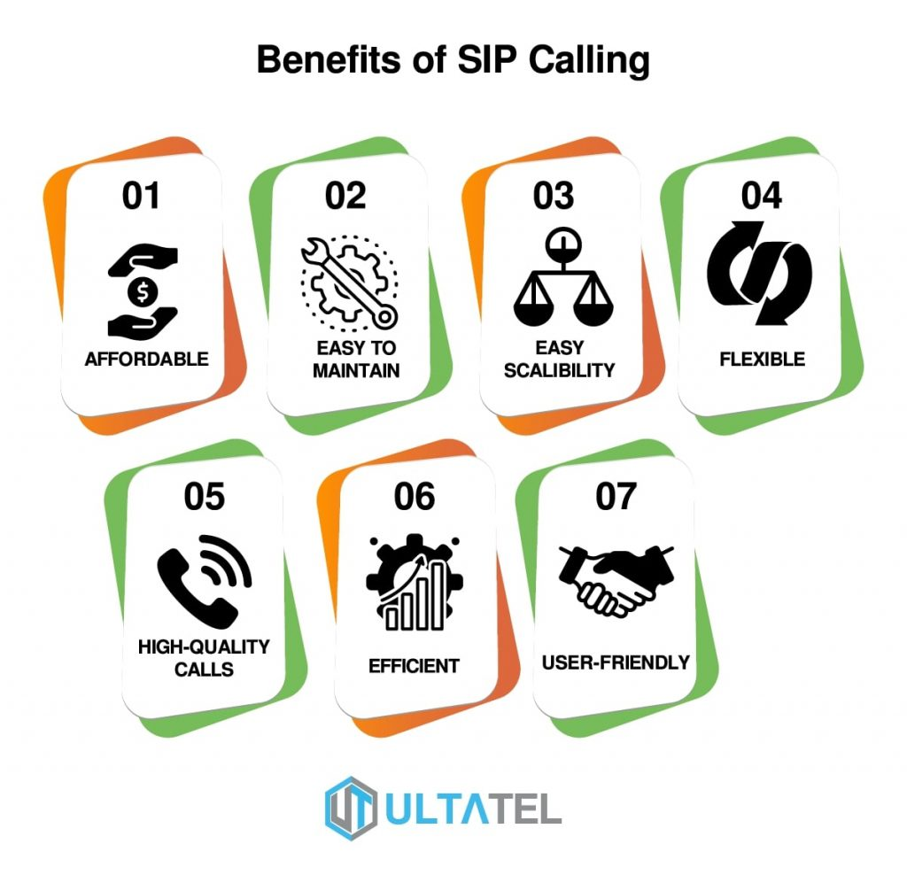 benefits of sip calling infographic