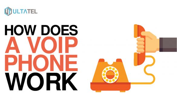 how does a voip phone work
