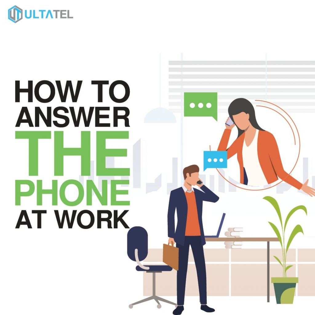 How to Answer the Phone at Work Featured Image