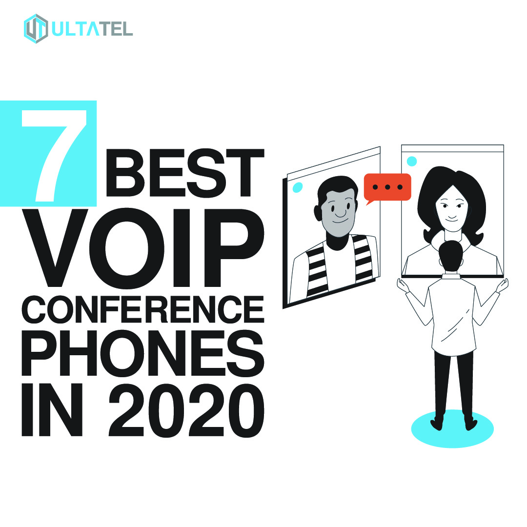 7 Best VoIP Conference Phones in 2020 Featured Image